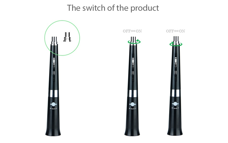 Beyang H-legend-7 VV Kit The switch of the product