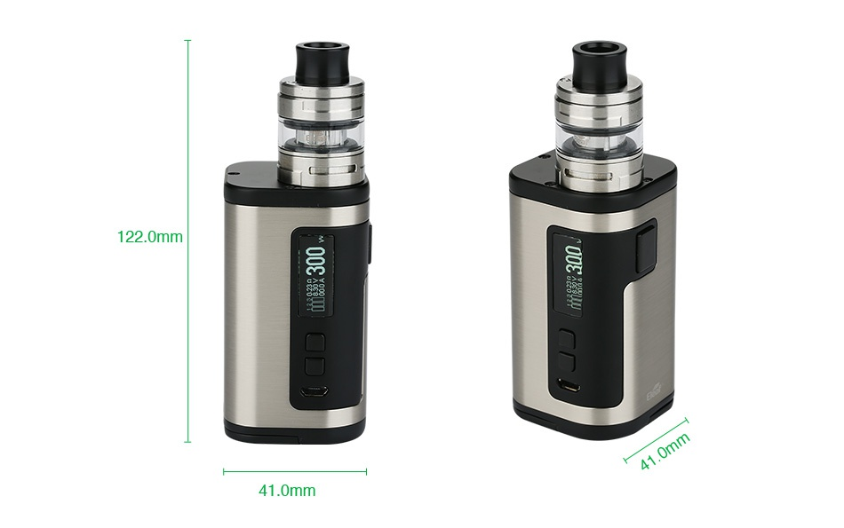 Eleaf iStick Tria 300W Kit with ELLO S 41 0mm
