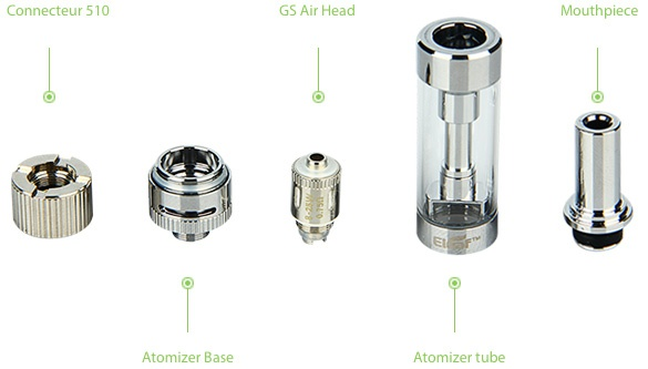 Eleaf iStick Basic with GS-Air 2 Kit 2300mAh Atomizer base Atomizer tube