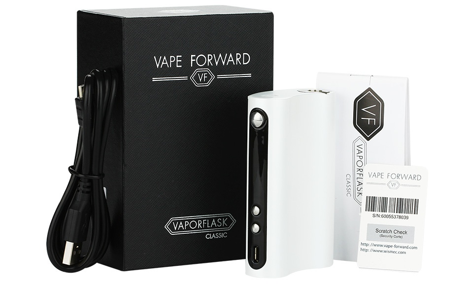 [US Only] Vape Forward Vaporflask 150W Classic TC Box MOD VAPE FORWARD VF PORFLASK  CLASSIC Scratch Check