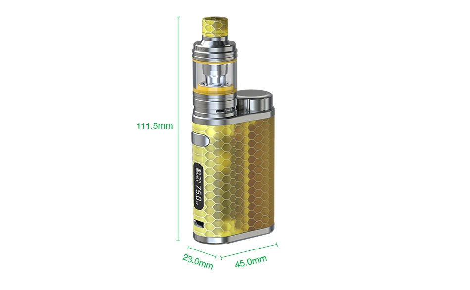 Eleaf iStick Pico Resin 75W TC Kit Limited Edition 111 5mm om
