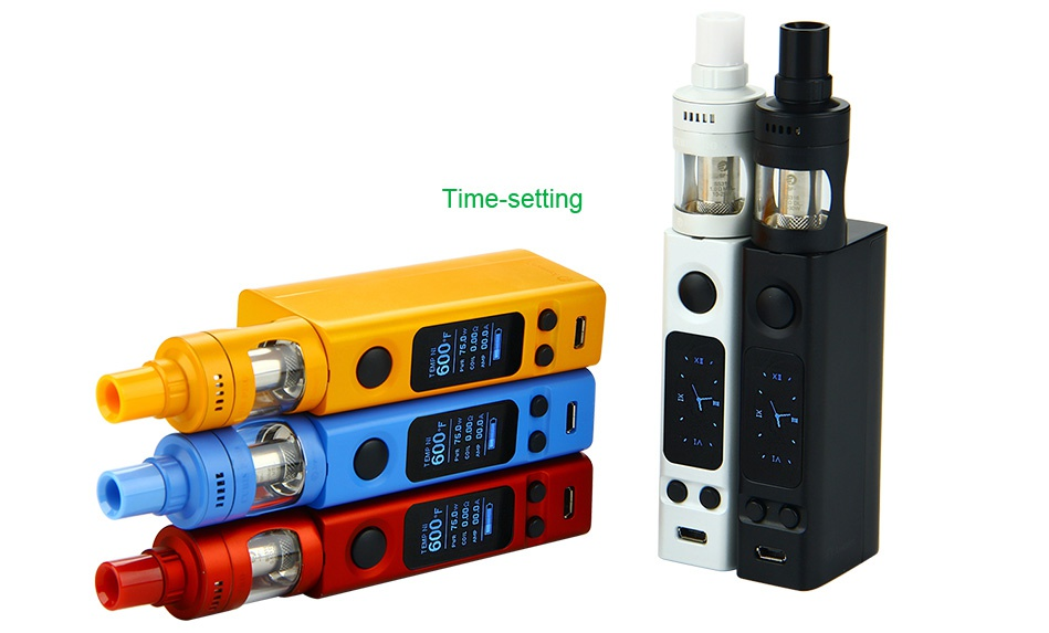 Joyetech eVic VTwo Mini with CUBIS Pro Full Kit Time setting