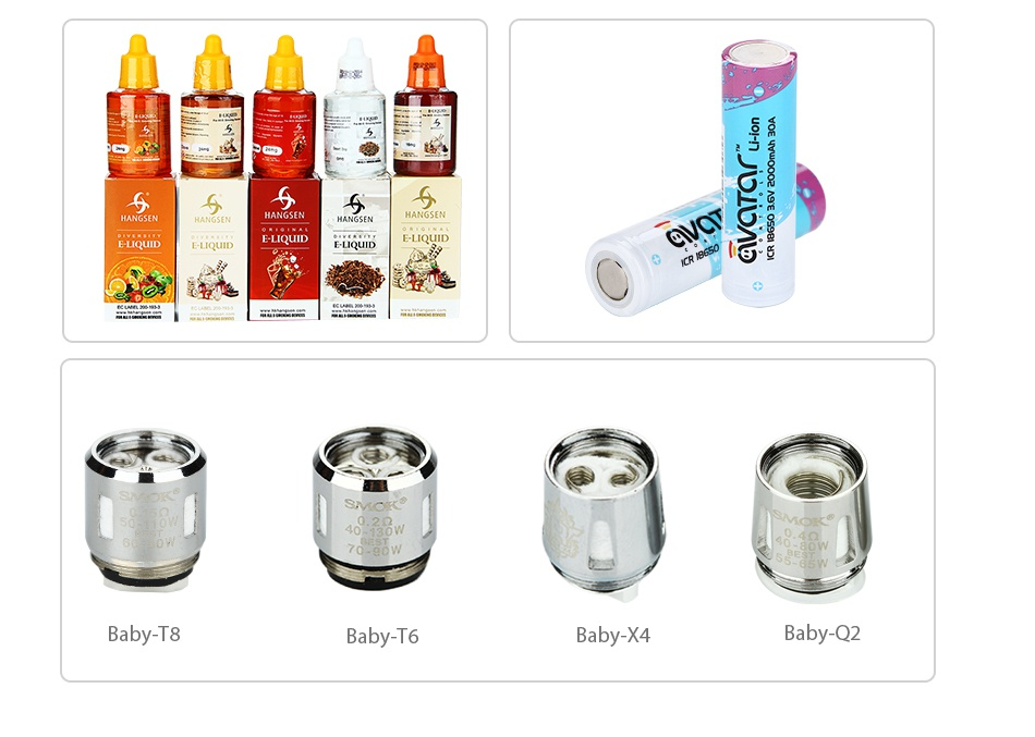 SMOK G-PRIV 220 With TFV8 Big Baby Starter Kit 5 5 55 e 2   Baby X4 by 02