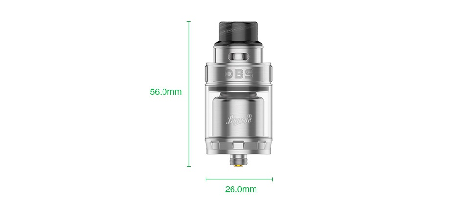 OBS Engine 2 RTA 5ml DB 56 0mm 26 0mm