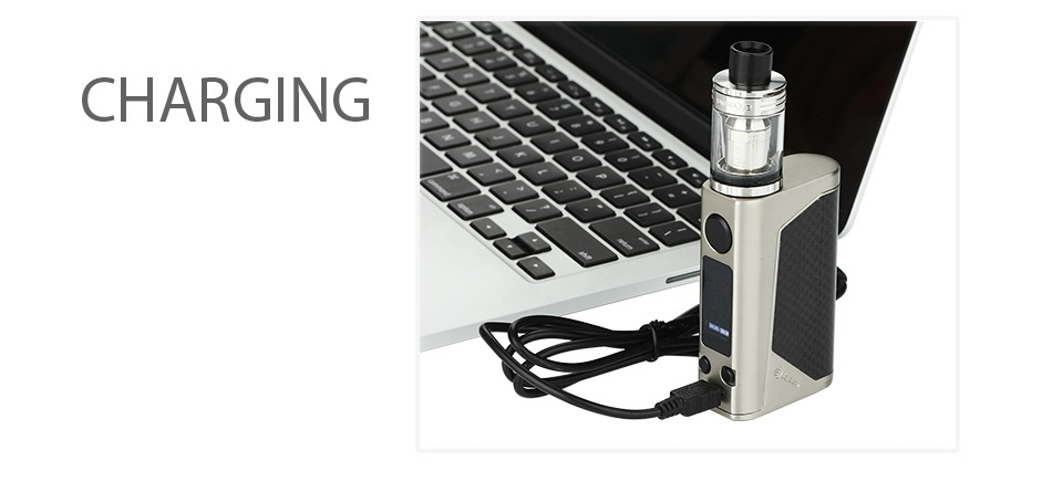 Joyetech eVic Primo 2.0 228W with UNIMAX 2 Full Kit CHARGING