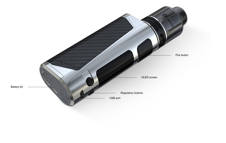 Joyetech eVic Primo SE 80W with ProCore SE Kit Fire button OLED screen buttons SB port