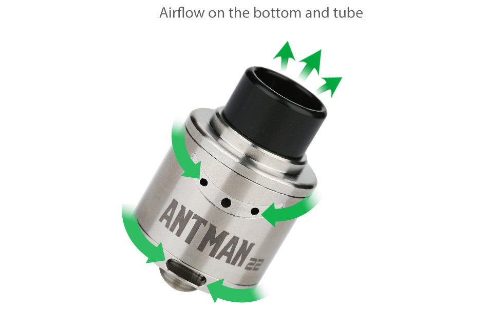 Tesla Terminator with Antman 22 RDA Kit ANTMAN2
