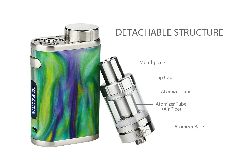 Eleaf iStick Pico RESIN 75W with Melo 3 Mini Kit DETACHABLE STRUCTURE Mouthpiece N 8 Atomizer tube Atomizer tube  Air Pipe  Atomizer base