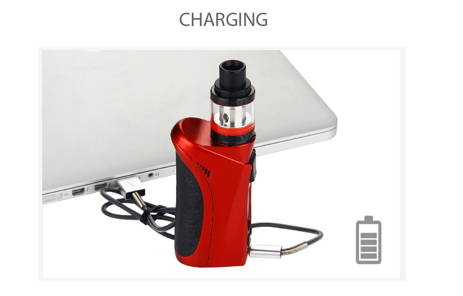 Vaporesso Nebula 100W TC Kit with Veco Plus Tank 2ml CHARGING