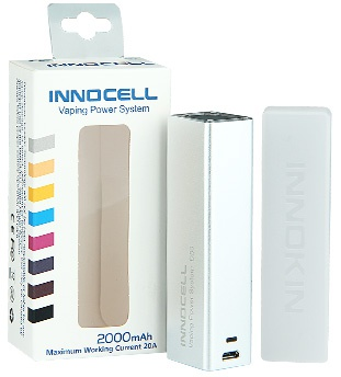 Innokin InnoCell Battery 2000mAh NN cELL Vaping Pawer System 2000mAh2 Maxinu m Working Curent 20A