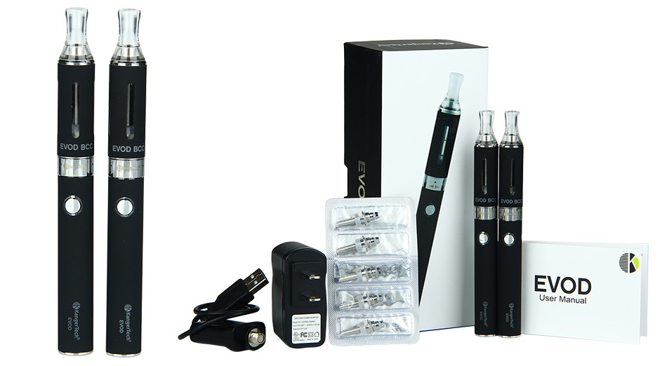 Kangertech EVOD Starter Kit 650mAh (4 Windows) EVOD B   EVOD