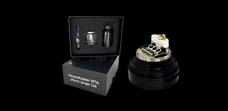 Squid Industries PeaceMaker RTA 4ml er gle A