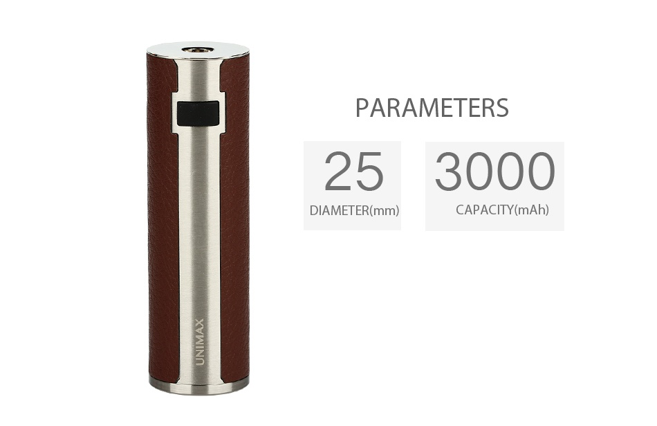Joyetech UNIMAX 25 Battery 3000mAh Silver Red Silver Blue Silver  Brown Silver black Black