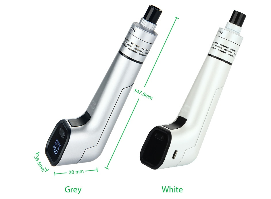 Joyetech Elitar Pipe TC Starter Kit 38 mm Grey White