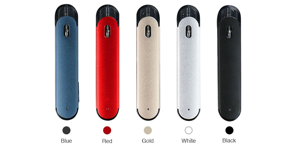 Eleaf Elven Pod Starter Kit 360mAh Silve Gold Red Blue Black