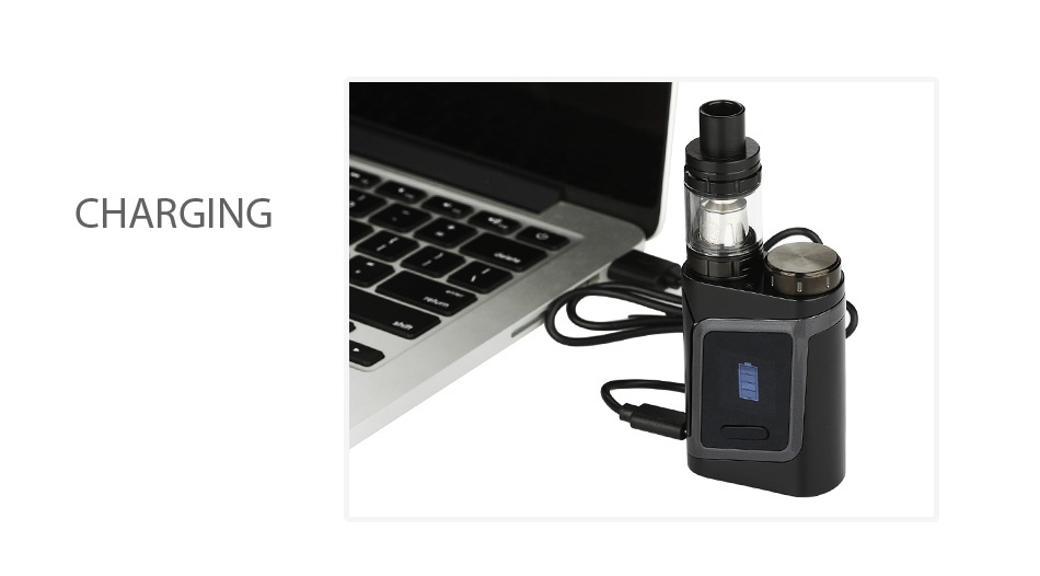 SMOK Alien Baby AL85 TC Starter Kit CHARGING