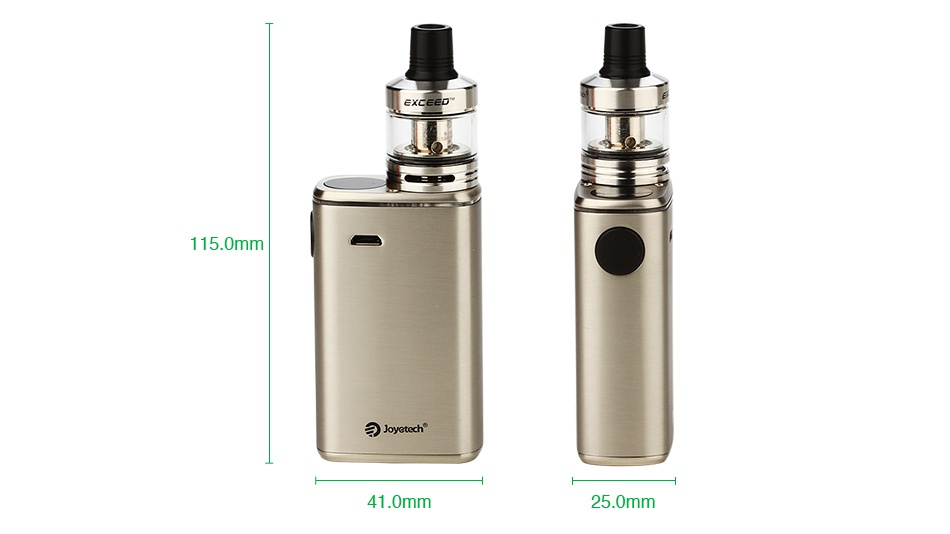 Joyetech Exceed Box with Exceed D22C Starter Kit 3000mAh 5 0mm 41 0mm 250mm