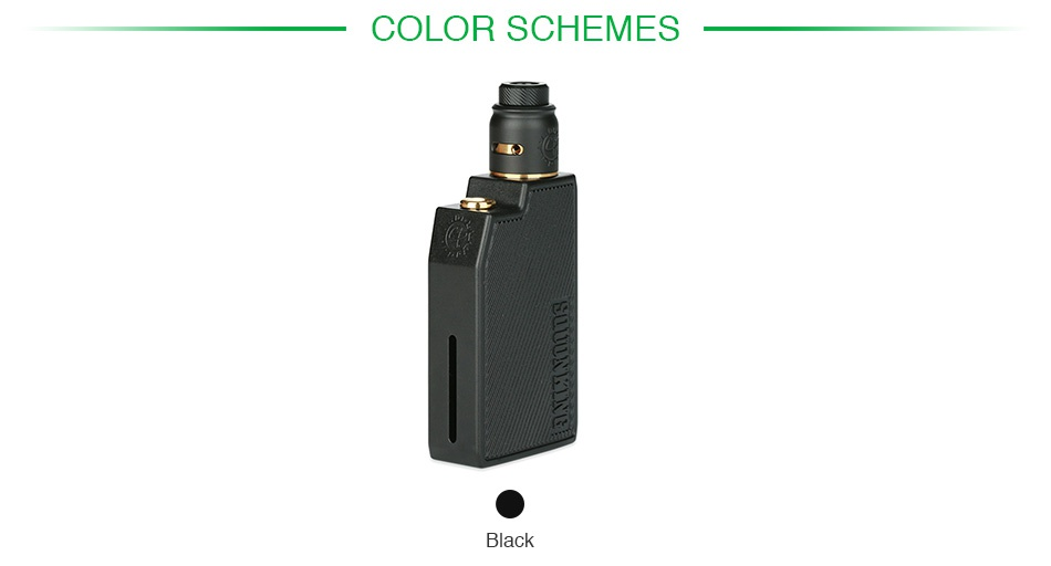 Advken CP Squonking Kit COLOR SCHEMES Black