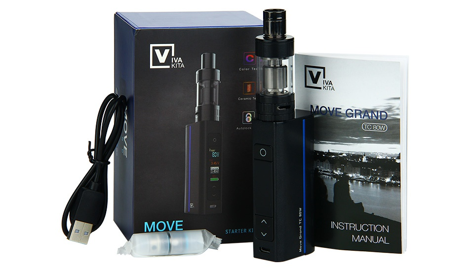 Vivakita Move Grand 80W TC Starter Kit 80