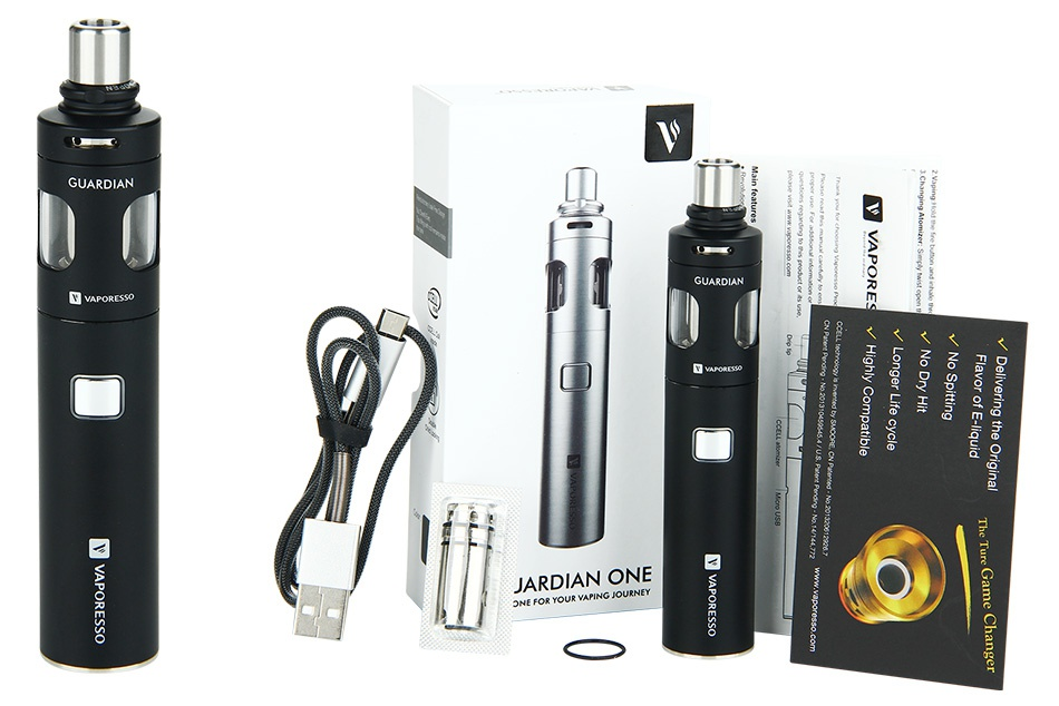 Vaporesso Guardian One Express Kit 1400mAh 8 JARI DIAN ONE FOR YOUR YAPING JOURNEY