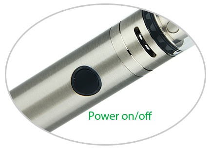 Kangertech SUBVOD-C Starter Kit 1300mAh Power on off
