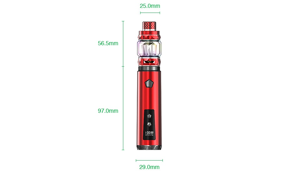 IJOY Saber 100 20700 VW Kit 25 0mm 56 5mm 97 0mm 290mm