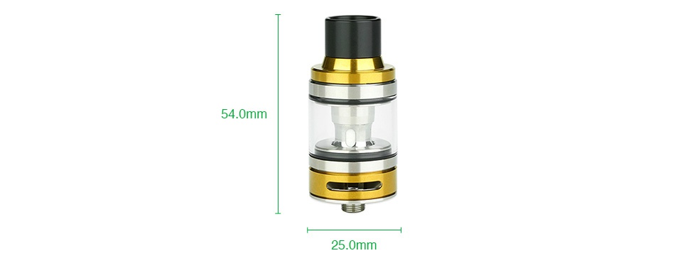 Eleaf iJust ECM Atomizer 4ml/2ml 25 0mn
