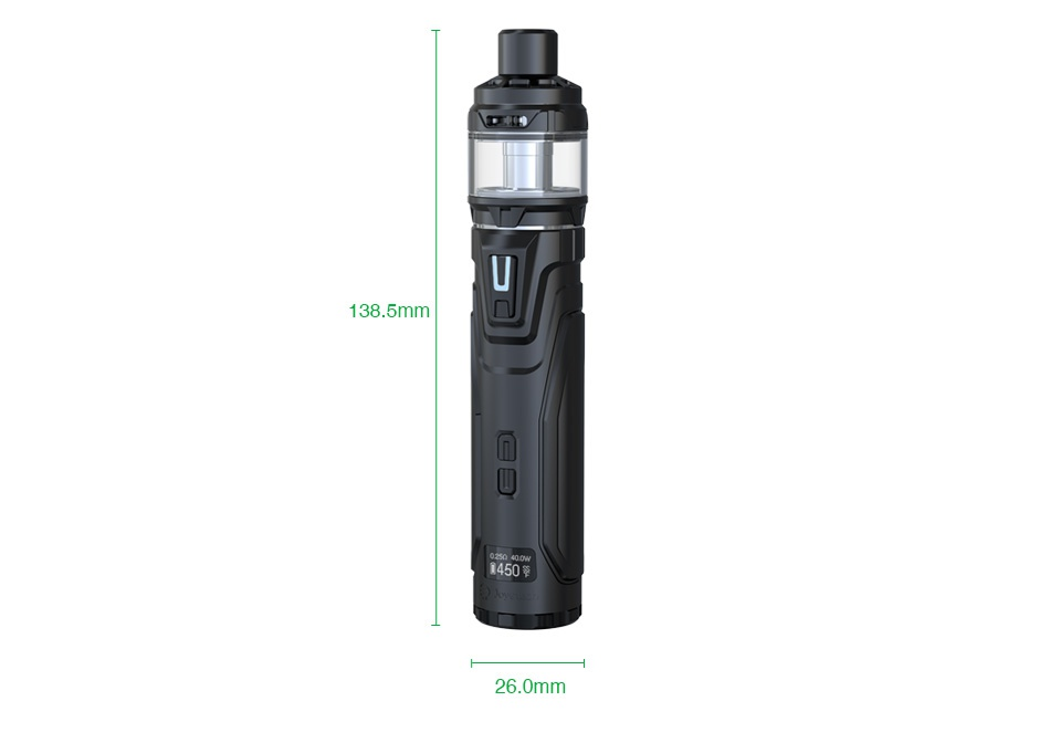 Joyetech ULTEX T80 80W TC Kit with Cubis Max 138 5mm 0 26 0mm