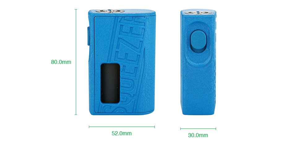 Hugo Vapor Squeezer BF 20700 Mechanical Box MOD Black Red Camo Blue