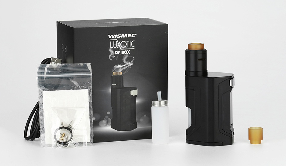 WISMEC Luxotic DF Box 200W TC Kit with Guillotine V2 WIMEL Df BOX