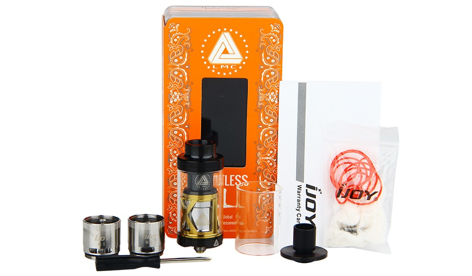 IJOY Limitless XL Tank/RTA 4ml TETL