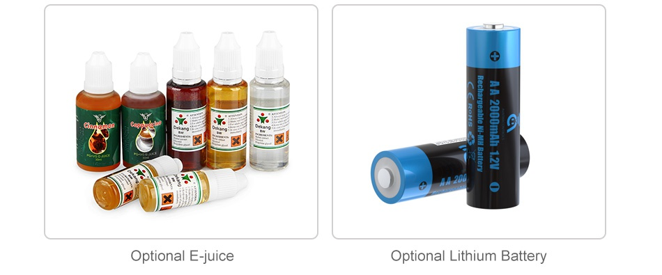 Joyetech Batpack Kit with ECO D16 Optional E juice Optional Lithium Battery