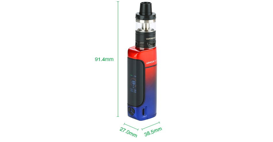 Vaporesso Armour Pro 100W TC Kit with Cascade Baby 91 4mm