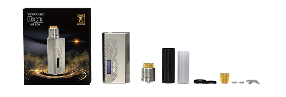 WISMEC Luxotic MF Box VV Kit with Guillotine V2(with Screen) LUXOTIC