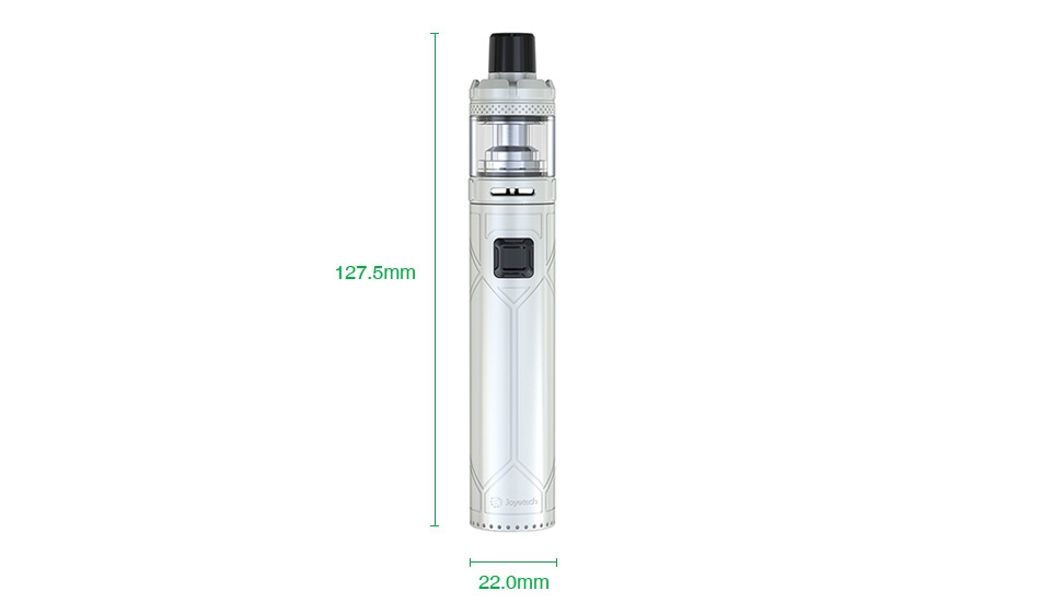 Joyetech Exceed NC with NotchCore Kit 2300mAh 127 5mm 22 0mm