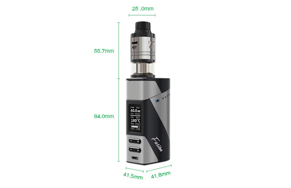 Ehpro 2-in-1 Fusion 150W TC Kit 400w 400w 40 0w 180 Gun black Orange black Yellow black Red black
