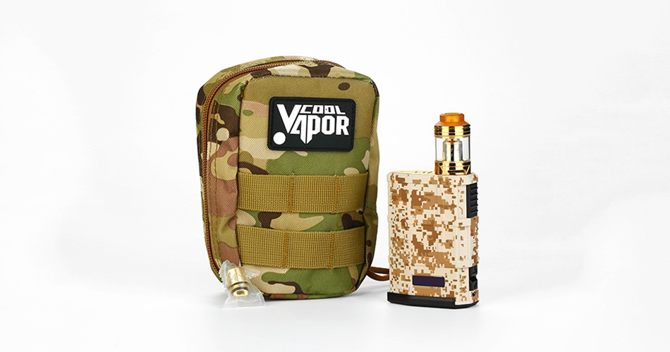 Cool Vapor MADPUL 200W VW Kit with LAVA Tank IOR