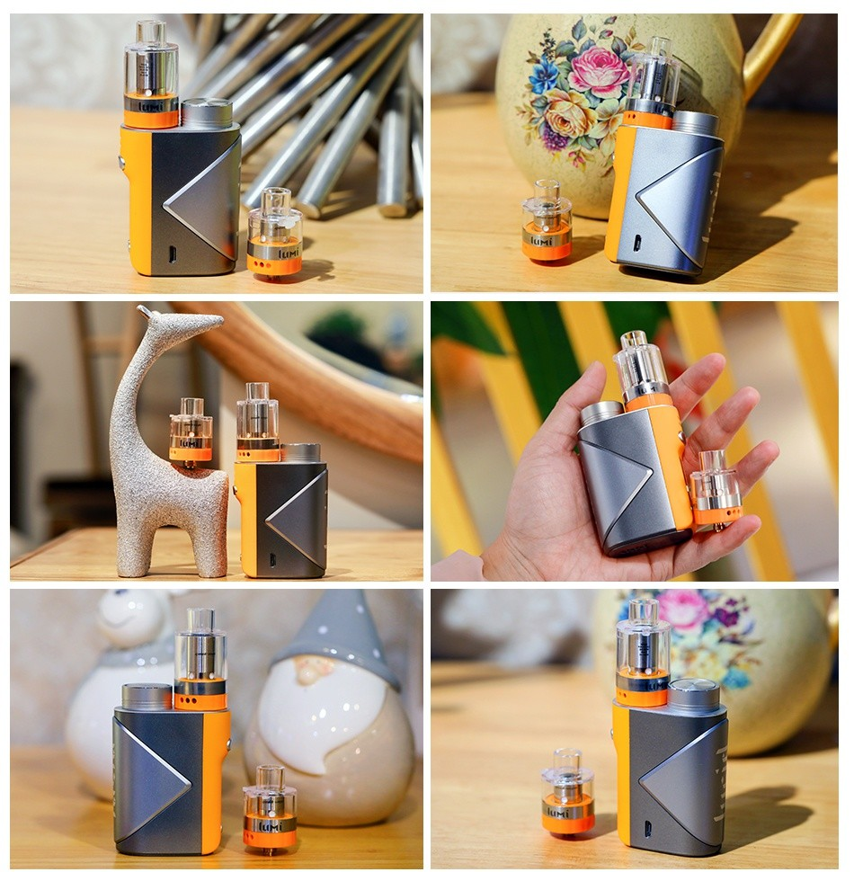 Geekvape Lucid 80W TC Kit with Lumi
