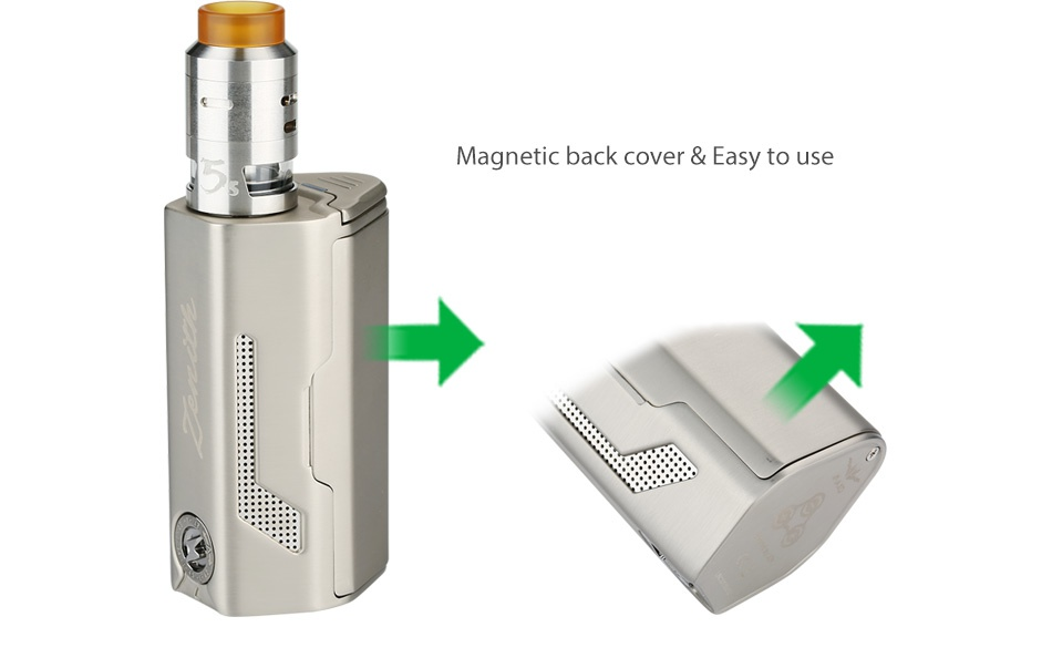 IJOY MAXO Zenith 300W with RDTA 5S VV Kit Magnetic back cover easy to use