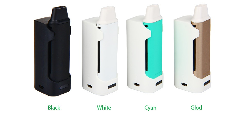Eleaf iCare Mini PCC Starter Kit 2300mAh Black White C Glod