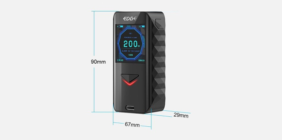 Digiflavor Edge 200W TC MOD 200 90mm