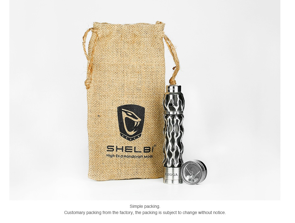 SHELBI MODS Regga Mech Kit SHELBL Simple packing Customary packing from the factory  the packing is subject to change without notice