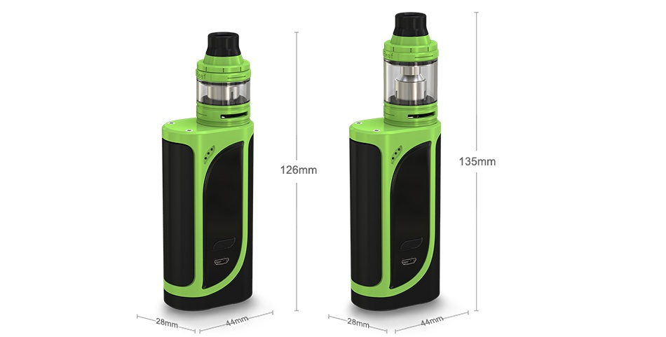 Eleaf iKonn 220 with Ello Kit 135mm 126mm