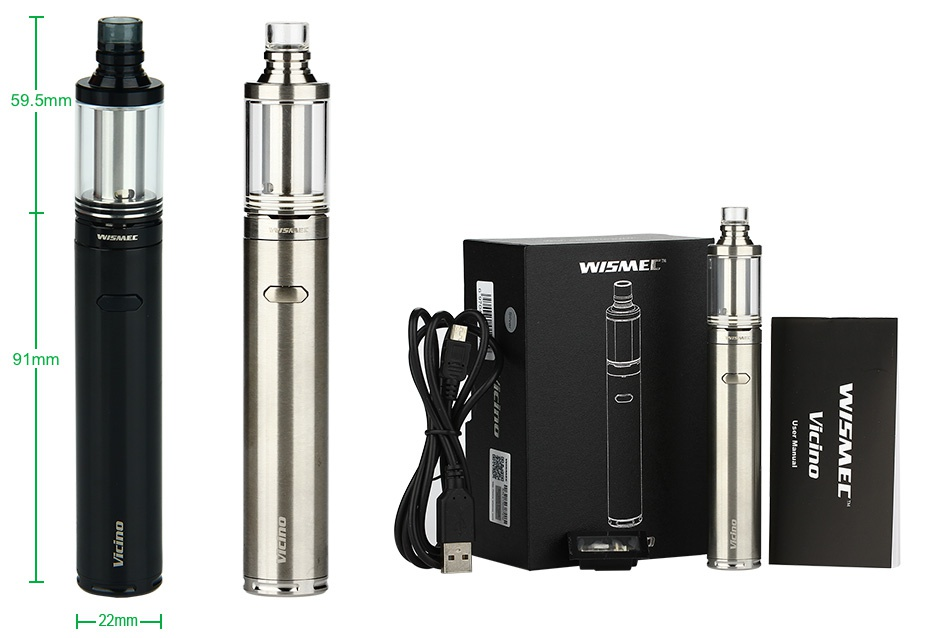 WISMEC Vicino Starter Kit 59 5mm    T 91mm