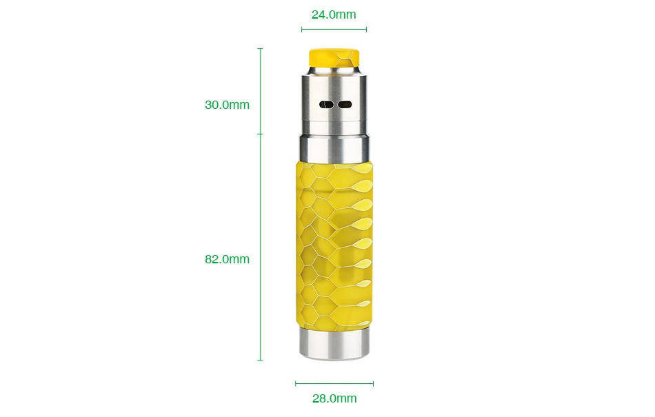 WISMEC Reuleaux RX Machina 20700 Mech MOD with Guillotine RDA Kit 3000mAh 24 0mm 30 om 28 0mm