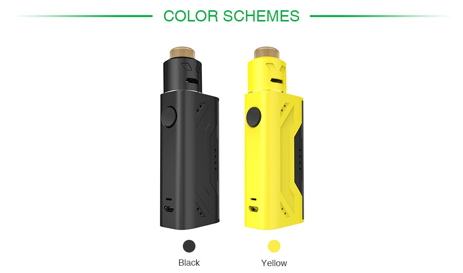 Smoant Battlestar Nano RDA Kit COLOR SCHEMES Yellow