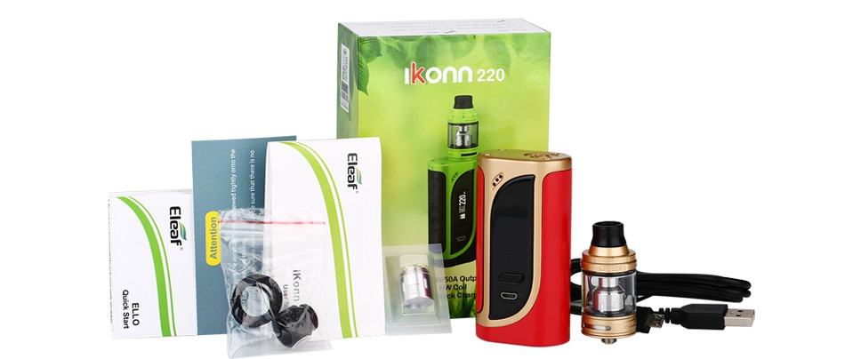 Eleaf iKonn 220 with Ello Kit lkonn220