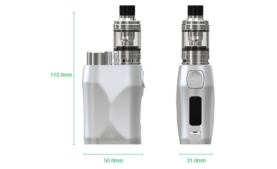 Eleaf iStick Pico X 75W TC Kit with Melo 4 Atomizer 112 0mm 50 0mm 31 0mm