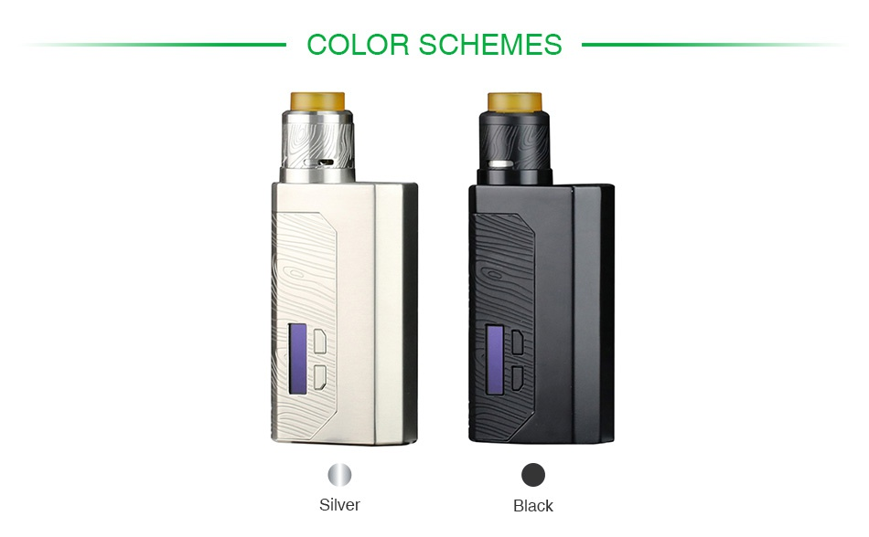 WISMEC Luxotic MF Box VV Kit with Guillotine V2(with Screen) COLOR SCHEMES Black