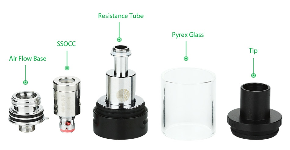 Kangertech Subox Mini-C Starter Kit White Space Gra S Gold